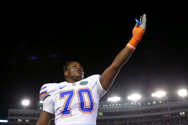 Gators Left Tackle D.J. Humphries out 2-4 Weeks with Knee Injury