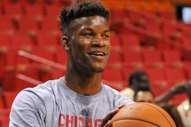Bulls Pick Up '14/15 Option on Jimmy Butler