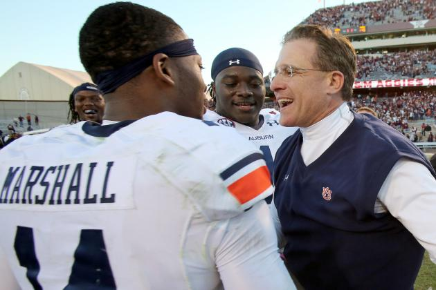 Success Doesn't Change Auburn's Mentality