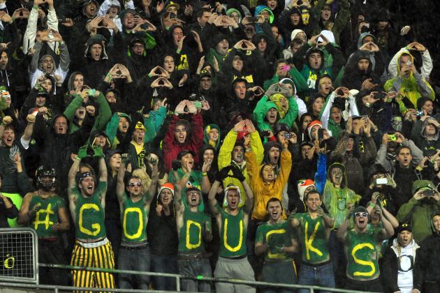 Former Oregon Player Blasts Ducks Fans with Expletive-Filled Letter