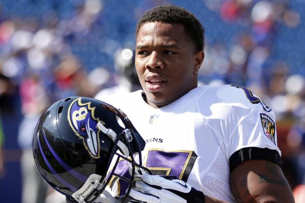 Ray Rice Says He Didn't Spit on Browns' Phil Taylor in Week 2 Game