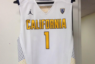 Photo: The New White Basketball Jerseys For The Cal Golden Bears Are Sick