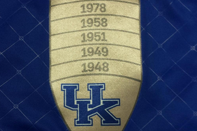 Photos: Kentucky's New Basketball Warmups Have Patch Honoring 8 Title Teams