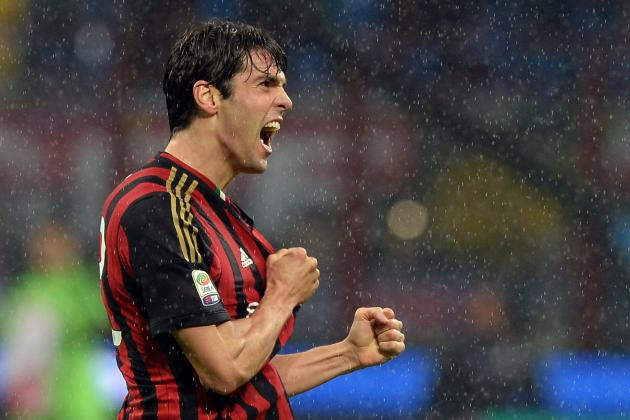 GIF: Kaka Puts AC Milan Ahead vs. Lazio with Brilliant Curler