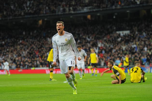 Real Madrid vs. Sevilla: Live Player Ratings for Real