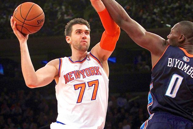 Why Andrea Bargnan Is Not the Answer for NY Knicks Alongside Carmelo Anthony