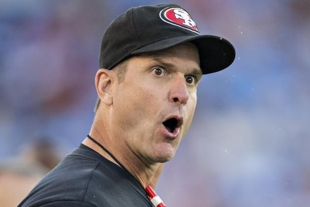 ProFootballTalk: Jim Harbaugh Thinks Next Game Is Always Biggest of Theyear