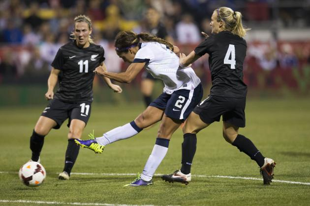 USA vs. New Zealand Women's Soccer: Game 2 Score, Grades and Post-Match Reaction
