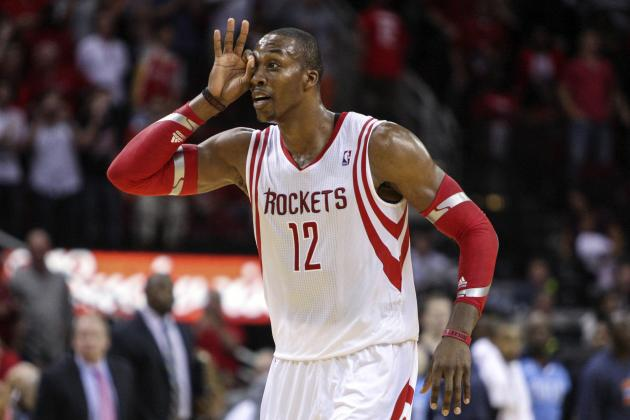 Dwight Howard Ties Career High for Rebounds in Houston Rockets Debut