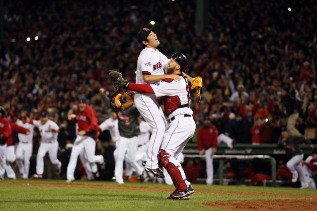 Video, Twitter Reaction of Boston Red Sox Clinching World Series Victory