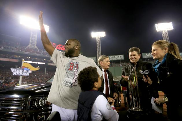 David Ortiz Named 2013 World Series MVP