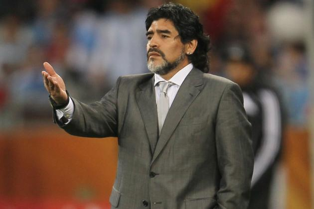 Diego Maradona Calls Sergio Aguero a Wimp and Demands Showdown over Daughter