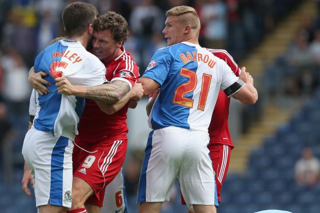 Blackpool and Blackburn Both Charged over Brawl