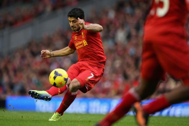 Liverpool's Luis Suarez to Show Arsenal Exactly What They Missed out on