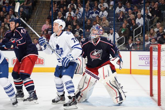 Breaking Down David Clarkson's Late Start in the 2013-14 Season