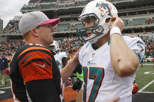 Fins Try to End 4-Game Losing Streak Thursday Against Bengals