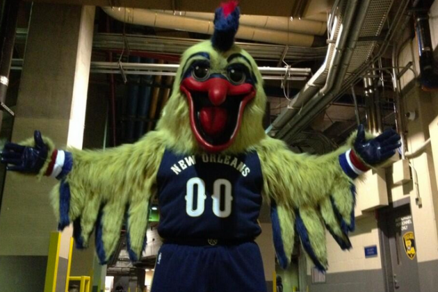 Internet Rallies Around Pelicans' Terrifying New Mascot, Pierre
