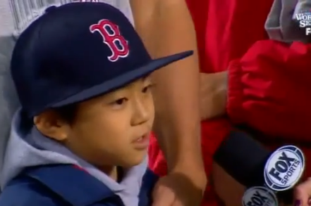Koji Uehara's Son Gave the Best Postgame Interview Last Night
