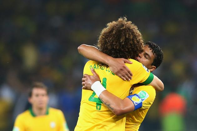 Thiago Silva and David Luiz Perfect Partnership for Brazil at 2014 World Cup