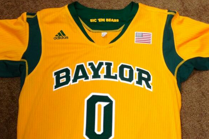 Baylor Unveils New Gold Uniforms