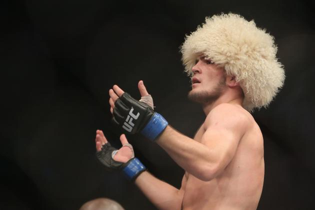 Khabib Nurmagomedov Wants Gilbert Melendez on Epic 169 Card