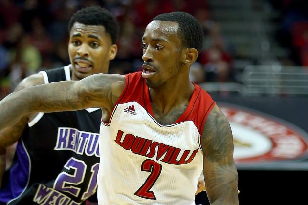 Louisville's Russ Smith, Kentucky's DeNesha Stallworth Named...