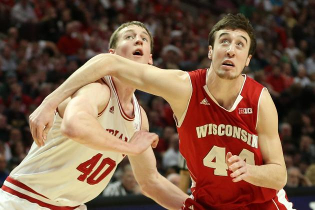 Badgers Men's Basketball: Frank Kaminsky Healthy, Eager for Start of Season