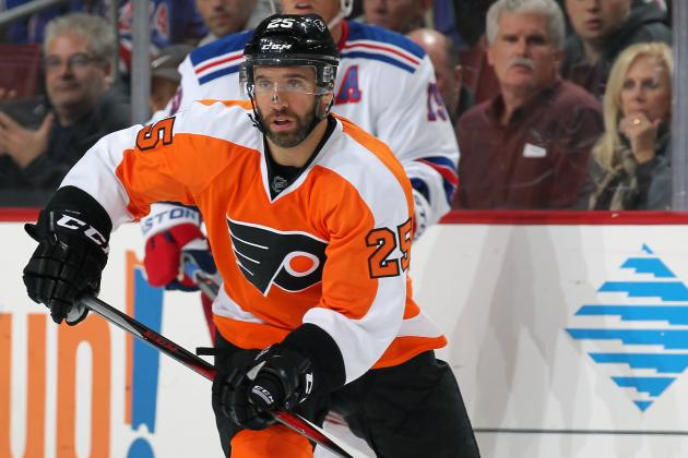 Philadelphia Flyers Trade Max Talbot to Colorado Avalanche for Steve Downie
