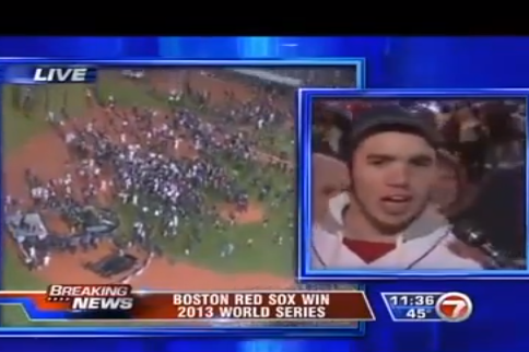 F-Bombs and Memory Loss Feature in Hilarious Red Sox Fan Interview