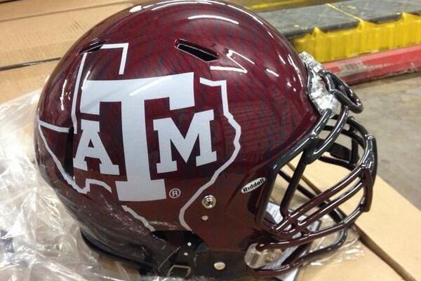 Potential New Helmet for Texas A&M Aggies Football Team Leaked?