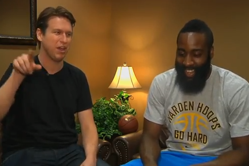 James Harden Stopped by to Chat with Pete Holmes and It Was Hilarious