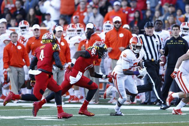 Clemson Football: Is Sammy Watkins a Top-10 Pick in the 2014 NFL Draft?