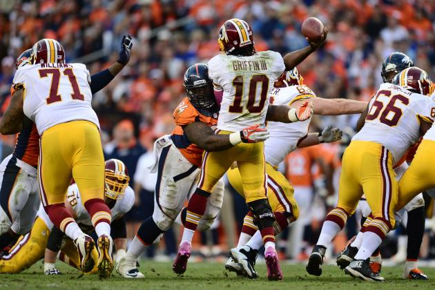 Examining RGIII's Recent Rash of Mistakes: Who's Been at Fault?