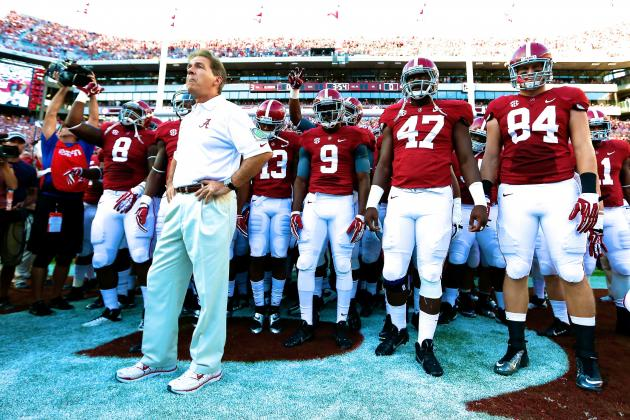 Is It a Foregone Conclusion That Alabama Rolls to BCS Title Now?