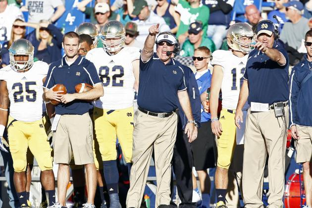 Navy vs. Notre Dame: What Fighting Irish Must Do to Avoid Upset vs. Midshipmen