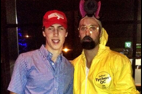 Image: RNH and Gagner Dress Up for Halloween