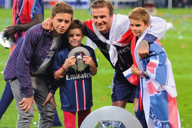 David Beckham's Son, Brooklyn, Reportedly Had Trial with Manchester United