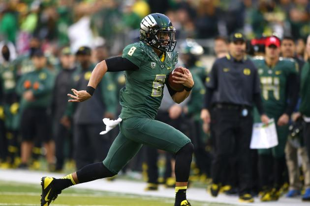 Oregon Football: Best and Worst-Case Scenarios for Ducks' Final 4 Games