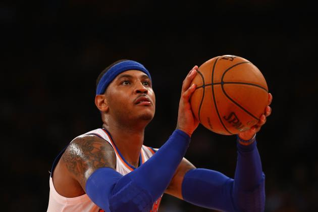 How Long Before Carmelo Anthony Becomes New York Knicks' Biggest Distraction?