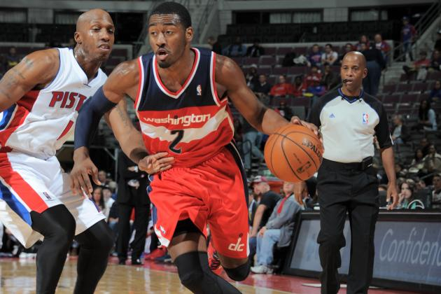 John Wall Draws First Flop Warning of the 2013-14 NBA Season