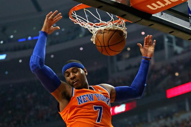 Carmelo Anthony Addresses Free Agency, Says 'I Want to Retire in New York'