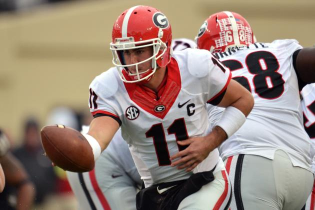 Georgia vs. Florida: Previewing Aaron Murray vs. Vernon Hargreaves