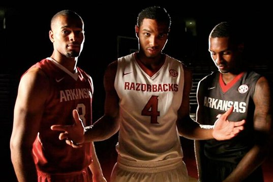 Arkansas Unveils Basketball Jerseys