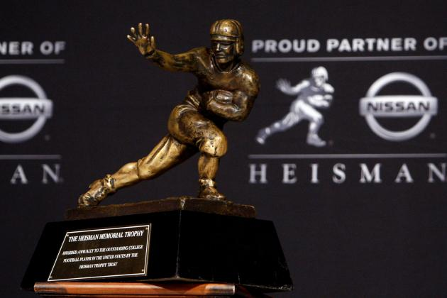 Heisman Trophy: Tale of the Tape for the Top 3 Contenders