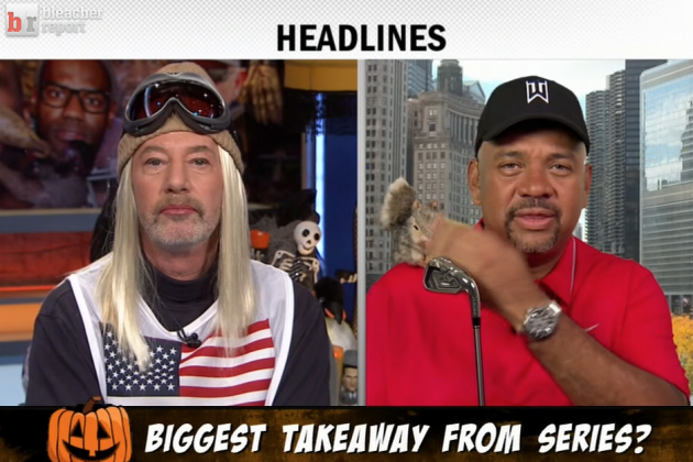 ESPN Panelists Break out Costumes on Shows for Halloween