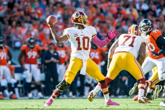 How Robert Griffin III Can Improve as a Passer