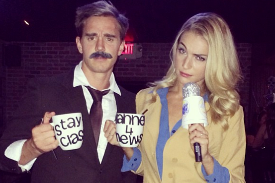 Instagram: Stu Holden's Ron Burgundy Costume