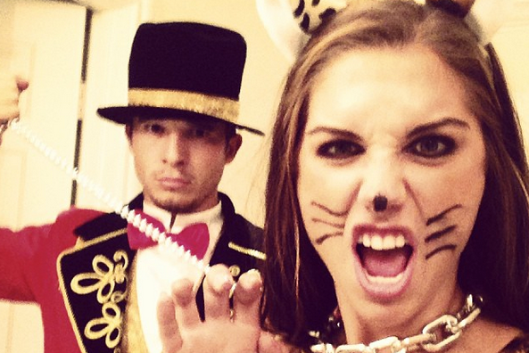 Alex Morgan's Leopard Halloween Costume