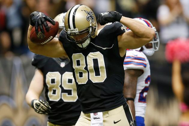 Jimmy Graham Can Still Be Effective as He Fights Through Foot Injury