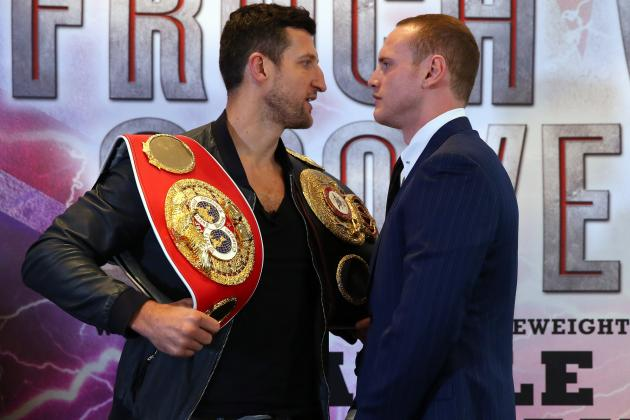 Carl Froch and George Groves Engage in Angry War of Words Ahead of Big Fight